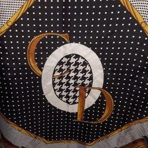 Christian Dior Vintage Silk Scarf